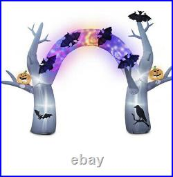 12ft Halloween Animated Sounds & Lights Archway Airblown Inflatable Yard Decor