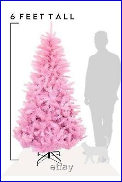 6 Foot Norway Artificial Pine Christmas Tree Xmas Stand Holiday Home Decor Tips