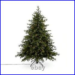 6ft Thetford Natural looking Artificial Christmas tree 400x warm white LED 8752