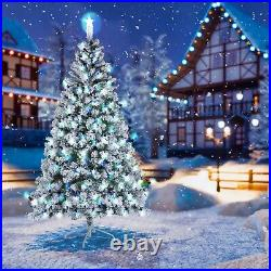 7.5Ft Christmas Tree Artificial Holiday Faux-Pine Xmas PVC Trees Home With Stand