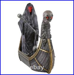 8FT Giant, Animated LED Halloween Ferry of The Dead. FAST US SHIPPING, IN HAND