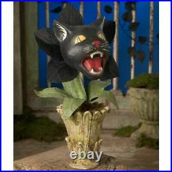 Bethany Lowe Halloween Scaredy Cat Orchid Plant TD9064 Free Shipping