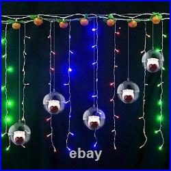 Christmas Clear Baubles Ball Transparent Plastic Craft Ball Decoration Party