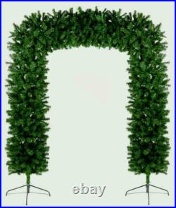 Christmas Tree Arch 8ft Green