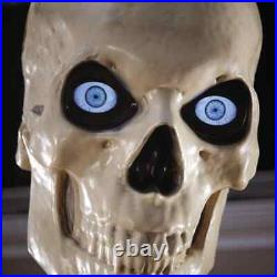 Free Local Pickup 12 Ft Skeleton 12 Foot Tall Giant Animated LCD Eyes Halloween