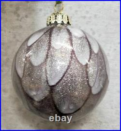 Frontgate Holiday Ornaments christmas ornaments set of 6 NEW