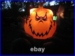 Gemmy Halloween 12 ft. Grim Reaper & Carriage Airblown Inflatable