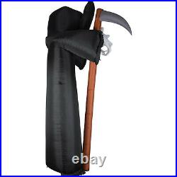HALLOWEEN 9.5 FT GRIM REAPER SKULL SICKLE ARCHWAY ARCH Airblown Inflatable