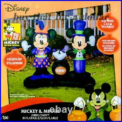 NEWDisney Halloween Decorations-Mickey Minnie Mouse-Inflatable-Outdoor-Airblown