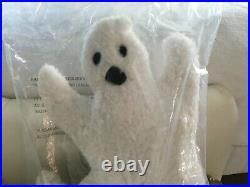 NWT Pottery Barn Halloween 15 in. Ghost Pillow
