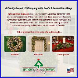 National Tree Company 6.5 Foot Pre-Lit Dunhill Fir Artificial Christmas Tree