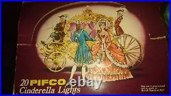 Pifco 20 Cinderella Lights Perfect Condition in orig box Pat tested next day del