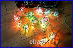 Pifco Vintage 20 Cinderella Carriage Christmas Lights Boxed / Mounts Working