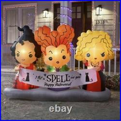 SEALED Disney 4.5ft Hocus Pocus Sanderson Sisters Air Blown Inflatable SOLD OUT
