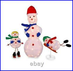 Special Customer Listing 3 Pc Tins Snowman, Halloween Jack Inflate, & Pirate In