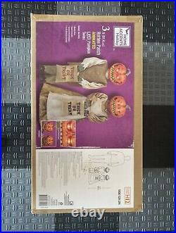 The Home Depot Animated Halloween Rotten Patch Pumpkin Twins. New In The Box